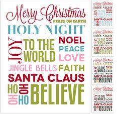 Christmas Subway Art, Christmas Quotes, Christmas Signs, All Things Christmas, Winter Christmas, Christmas Holidays, Christmas Crafts, Christmas Ideas, Merry Christmas
