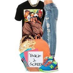 Back To School 7 29 14, created by miizz-starburst on Polyvore