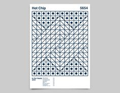 ALBUM ANATOMY / Hot Chip / 2012. By Duane Dalton. Uploaded by the artist. See http://cargocollective.com/duanedalton