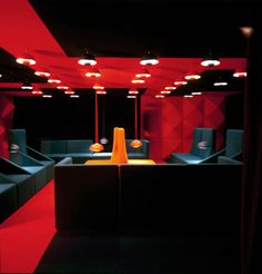 Verner Panton / Lounge Interior Design