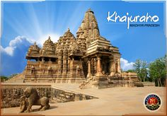 Discover the most beautiful medieval monuments in the country, Khajuraho Temples with Maharajas' Express Royal Journey. These temples were built by the Chandella ruler between AD 900 and 1130. The architectural style of the Khajuraho temples is very different from the temple prototype of that period.  For More Info Visit: the-maharajas.com  #Royalityontrain #luxurytravel #indiatravel #incredibleindia #luxuryindia #luxurytrainsindia