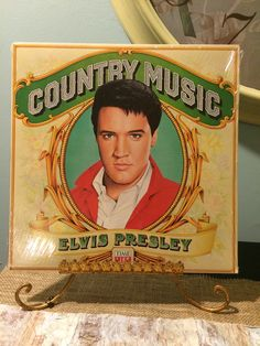 Elvis Presley Country Music Sealed LP Record Time Life Records 1981 Vintage…