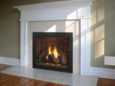 Heat and Glo Energy Pro Gas Fireplace Wood Gas Stove, Floating Fireplace, Mantle, Future House, Beach House, Family Room, Sweet Home, New Homes, Contemporary