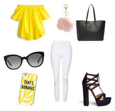 🍌 by jocelin-cra on Polyvore featuring polyvore, fashion, style, J.Crew, Topshop, Aquazzura, Yves Saint Laurent, Kate Spade, Burberry, Avenue and clothing