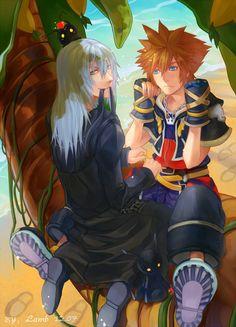 Sora et Riku