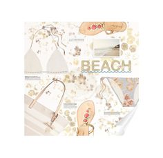 """""""#180. [summer daze]"""" by yuuurei ❤ liked on Polyvore featuring Kate Spade, Lilly Pulitzer, Zimmermann, le top, Summer, sandals, beach, bikini and beachtotes"""