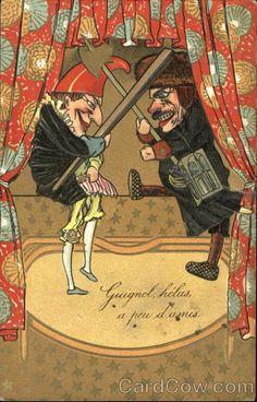 Punch & Judy Circus poster