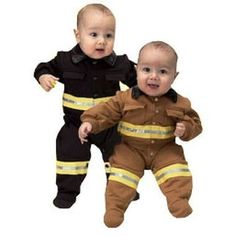 Baby bunker gear outfit