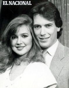 Los actores Jeannette Rodriguez y Carlos Mata, protagonistas de la telenovela Cristal. (EL NACIONAL)