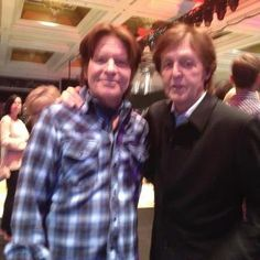 with John Fogerty at a private event in Nov. 2012