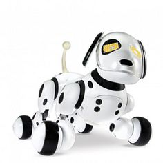 Zoomer is the perfect family pet! With life-like expressions and movements, as well as response to voice commands, Zoomer behaves just like a real puppy! Playful, loving and full of surprises, Zoomer can't wait to show kids everything he can do. Real Robots, Canada Shopping, Online Furniture, Dog Toys, Gifts For Kids, Interior Decorating, Dogs, Stuff To Buy, Gift Ideas