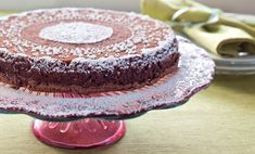 Hungarian Chocolate-Walnut Passover Torte