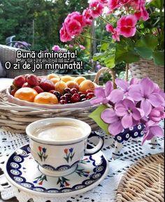 Good Morning, Tea Cups, Tableware, Cute Photos, Bonito, Buen Dia, Dinnerware, Bonjour, Tablewares