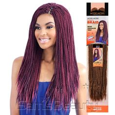 ModelModel Synthetic Hair Crochet Braids Glance Micro Senegalese Twist - Samsbeauty