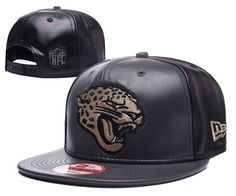 Jacksonville Jaguars Black/Metallic Gold Snapback Hats Leather|only US$6.00 - follow me to pick up couopons.