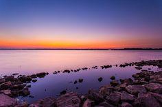 Lake Overholser, Oklahoma. Morning of June 30th, 2012.