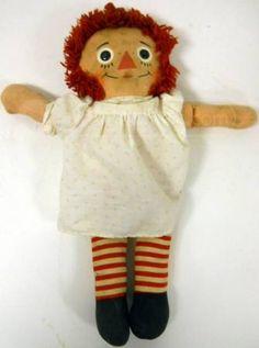 ~ WoW Vintage Raggedy Ann Doll ~
