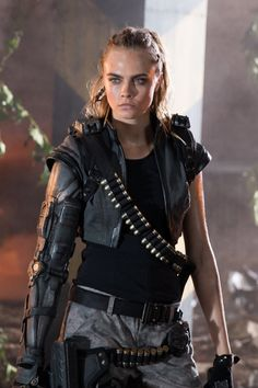 Cara Delevingne (@iamcaradelevingne) for Call of Duty: Black Ops III commercial