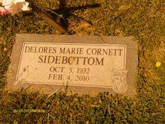 Delores M <i>Cornett</i> Sidebottom