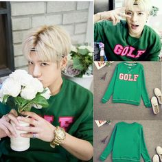 KPOP GOT7 Just Right Jackson Golf Sweatershirt Mark Pullover Hoodie Sweater #Allkpoper #LongSleeve