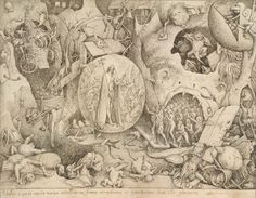 Pieter Bruegel the Elder, The Descent of Christ into Limbo, Pen and ink © The Albertina Museum, Vienna. Pieter Bruegel The Elder, Dream Pictures, Dutch Artists, Museum Exhibition, 16th Century, Vintage World Maps, Art Gallery, My Arts, Ink