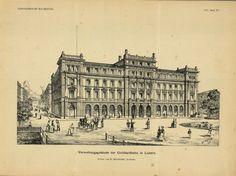 Verwaltungsgebäude der Gotthardbahn in Luzern. Louvre, Building, Travel, Lucerne, Literature, Construction, Trips, Buildings, Viajes