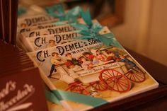 Demel chocolate bars
