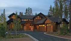 Craftsman House Plan with 3738 Square Feet and 4 Bedrooms from Dream Home Source | House Plan Code DHSW077155
