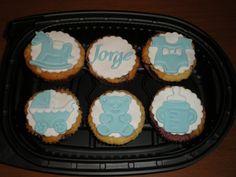 Cupcakes para una reciente mamá!