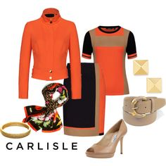 """""""Carlisle Collection Spring 2014: City Chic Styling"""" by carlislecollection on Polyvore"""