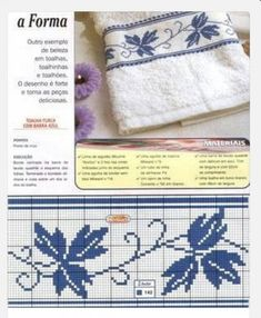 This Pin was discovered by Ayş Cross Stitch Pillow, Just Cross Stitch, Cross Stitch Needles, Cross Stitch Borders, Crochet Borders, Cross Stitch Flowers, Cross Stitching, Cross Stitch Embroidery, Filet Crochet