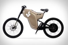 A battery powered bike when you want it, or a motorcycle when you need it, so cool! Greyp Bikes