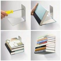 Raft de carti invizibil - Creativesc