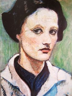 """Eva Zeisel, """"Self -Portrait"""" c. 1920s"""