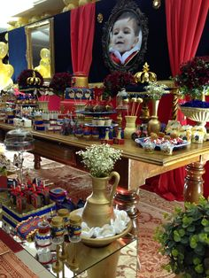 Festa príncipe / festa rei