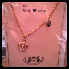 Juicy Couture necklace Rose Gold Juicy Couture necklace Juicy Couture Jewelry Necklaces