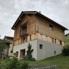 Alpine homes. Peter Zumthor, Leis, Switzerland, Cabin, Homes, Explore, House Styles, Building, Country Living