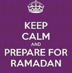 Prepare for #Ramadan.