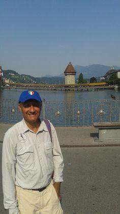 Dr Ron Virmani at Chapel Bridge