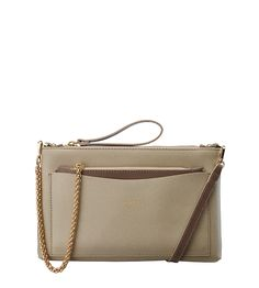 OSPREY LONDON - The Arles Italian Leather Convertible Clutch. This season's most elegant looks are worked by hand in colours inspired by nature but few can be as ingenious as The Arles Convertible Clutch, effectively two bags in one, both of which can be worn in multiple ways. £125 https://www.ospreylondon.com/products/the-arles-italian-leather-convertible-clutch