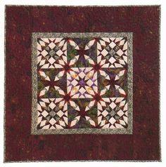 Miniature Quilt Pattern: Little Oddfellows Star MiniQuilt (paper pieced)