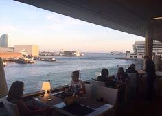 Que acabéis bien el finde ⚓️ #barcelona #catalunya #restaurant #mirandoalmar #maremagnum #terraza #domingo #comida #food #foodbcn