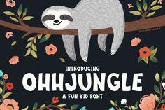 OhhJungle Font