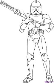 lego coloring pages star wars commander clone trooper | ARC ...