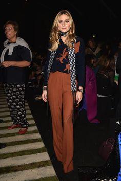 Pour S'asseoir au Premier Rang Pendant la Fashion Week de Milan, Il Faut Être Chic, Chic, Chic Olivia Palermo Au défilé Max Mara.