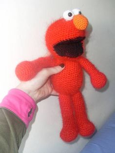 Elmo (with link to pattern) - CROCHET