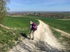 Troisième étape Via Francigena de Canterbury Rome aujourd'hui de Wissant à Licques