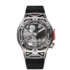 Hublot Techframe Ferrari 70 Years Tourbillon Chronograph -  Ferrari is about 70 years old and Hublot celebrates that moment with this Hublot Techframe Ferrari 70 Years Tourbillon Chronograph  -  Your Watch Hub