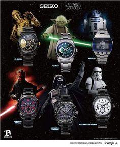 Zegarki Star Wars