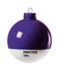 Pantone Christmas Ornament 268 Purple * For more information, visit image link. (This is an affiliate link) #Ornaments